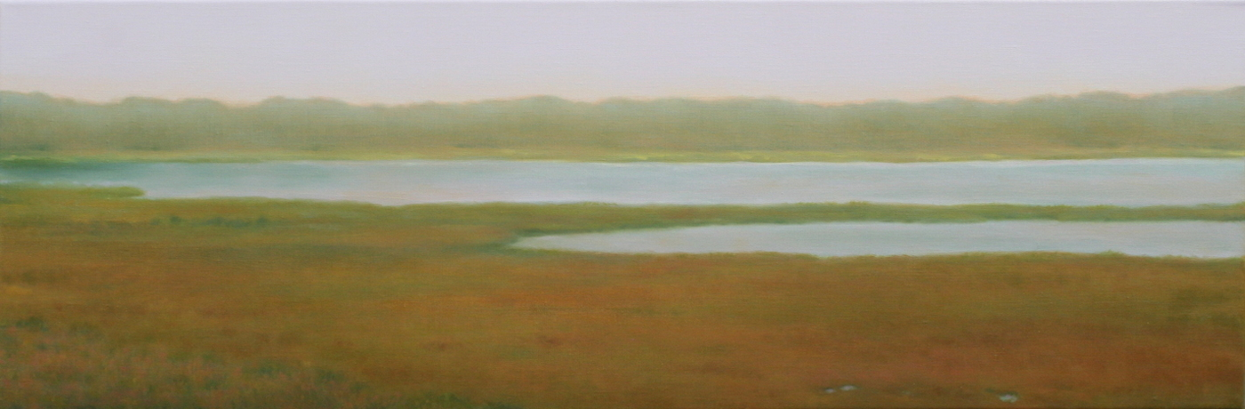 Summer Haze: Oil on Linen 10x30